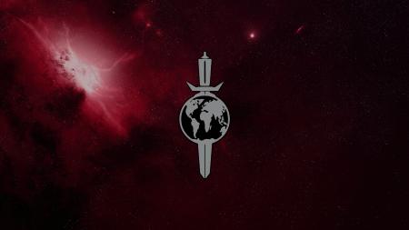 Terran Empire Logo in a Nebula