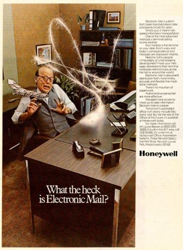 This electronic mail thing looks dangerous