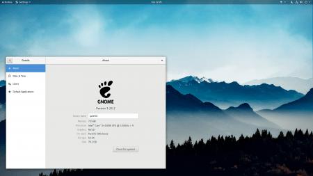 GNOME 3.26.2