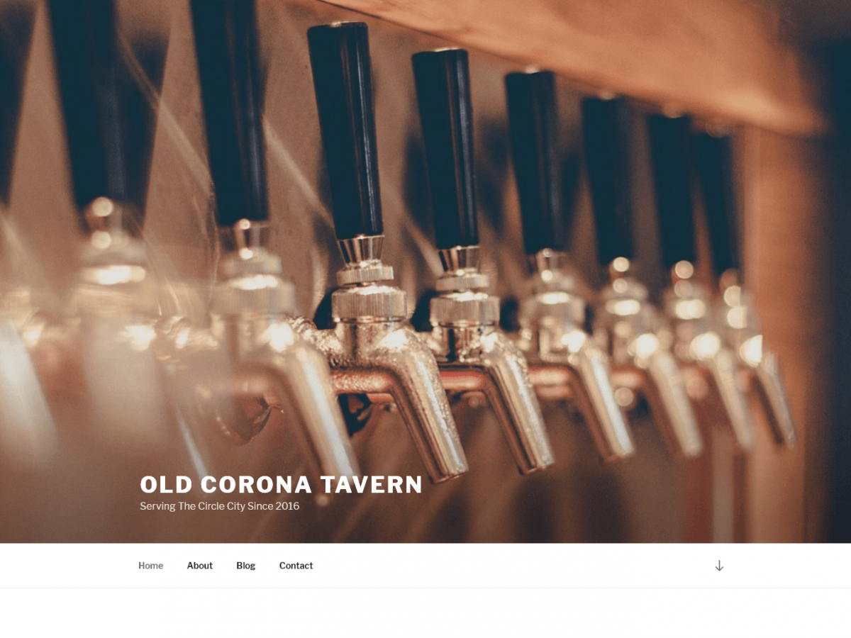 Old Corona Tavern Child Theme screenshot