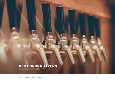 Old Corona Tavern Child Theme screenshot