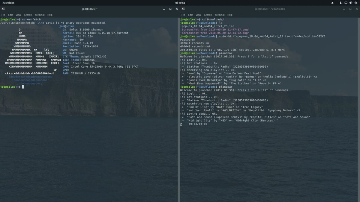 Solus GNOME on my Desktop PC