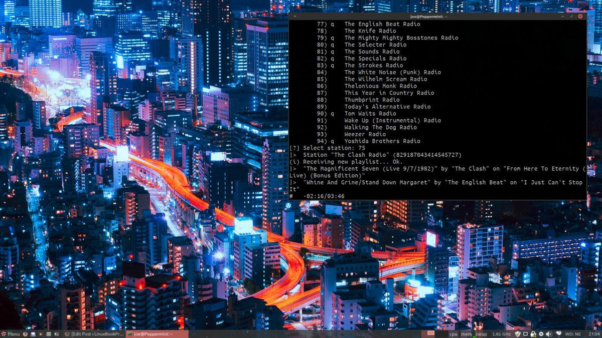 Peppermint 10 desktop