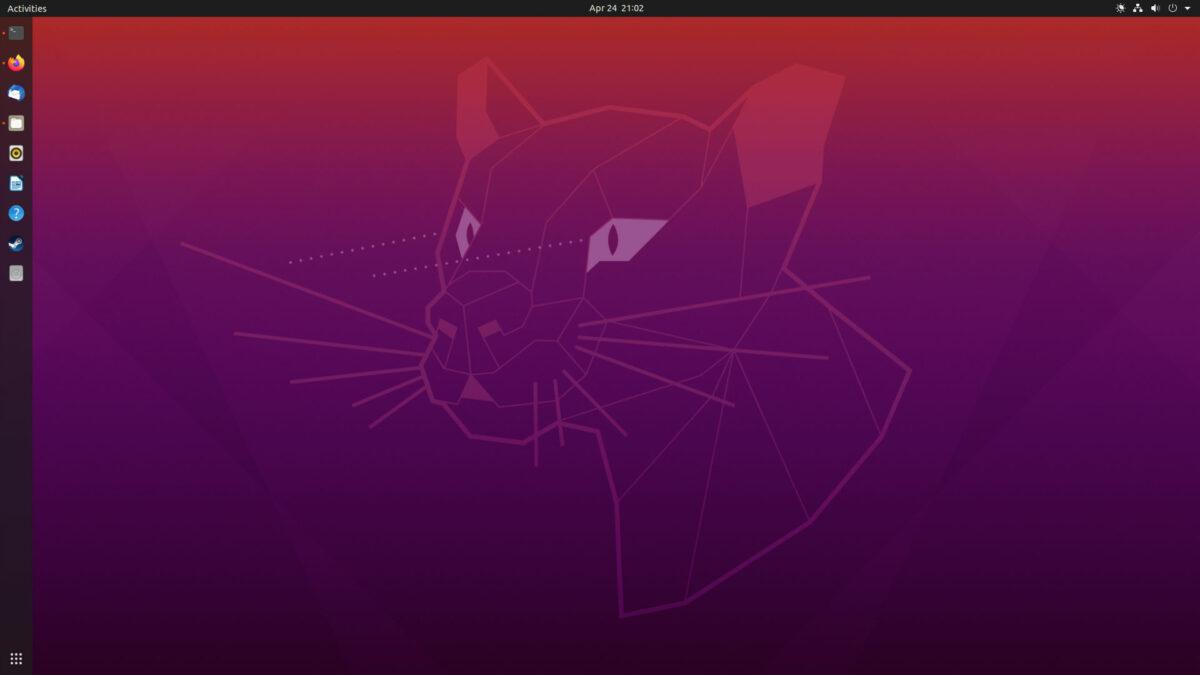 Ubuntu 20.04 Focal Fossa Desktop