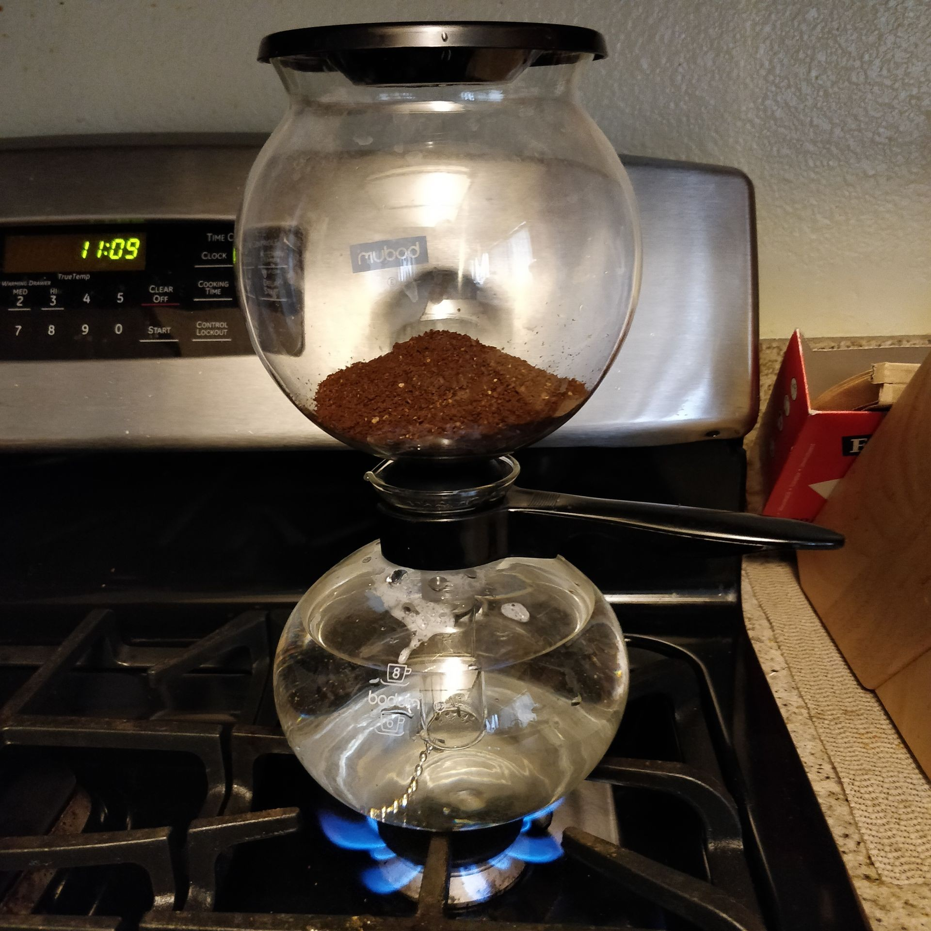 Bodum pebo stove top coffee maker