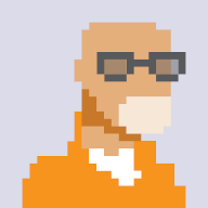 8-bit icon of Joseph Dickson