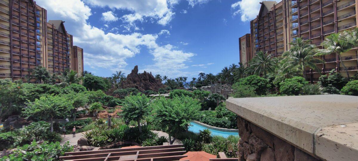 View of Aulani Resort
